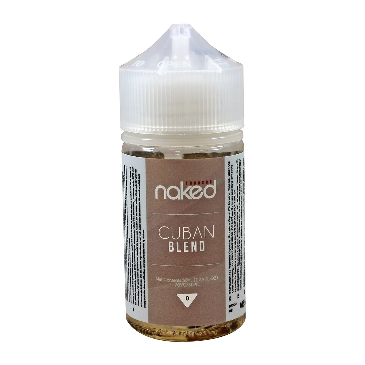 Cuban Blend Tobacco by Naked 100 60ml ⋆ VapeSocietySupply